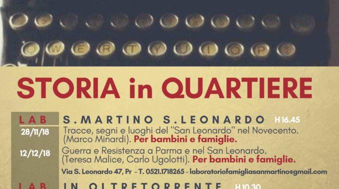 """STORIA IN QUARTIERE: Tracce, Segni E Luoghi Del """"San Leonardo"""" Nel Novecento."""